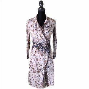 Fuzzi wrap dress Sz 10